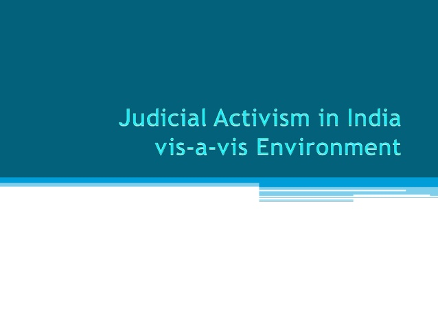 Judicial Approach Towards Sustainable Development (By Abhinav Tomer)